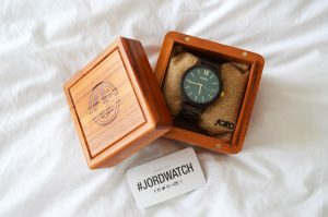 Jord watch in a wooden box